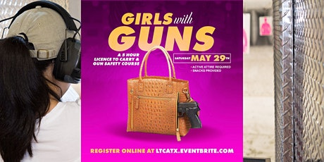 Girls w/ Guns: 5 Hour License to Carry + Gun Safety Course tickets