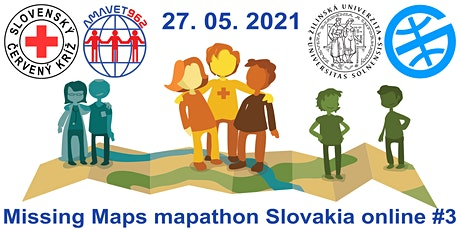 Missing Maps mapathon Slovakia online #3 billets