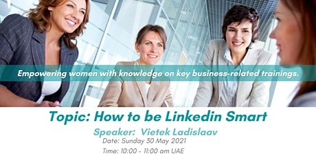 How to be Linkedin Smart - Pushing the Boundaries tickets
