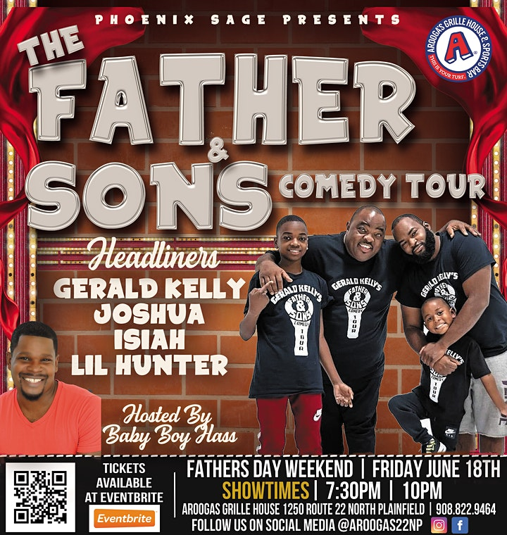 Gerald Kelly Father & Sons Comedy Tour image