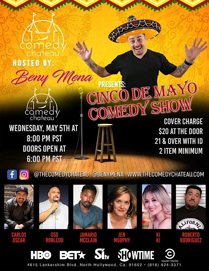 Beny Mena presents: Cinco De Mayo Comedy Show image