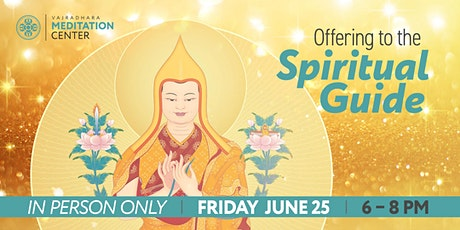 Offering to the Spiritual Guide 06/25/2021 tickets