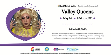 Valley Queens #Out4MentalHealth tickets