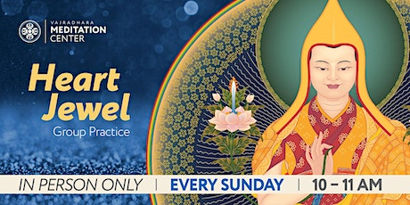 Sunday Morning Heart Jewel IN-PERSON ONLY tickets