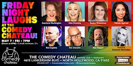 Friday Night Laughs at The Comedy Chateau tickets