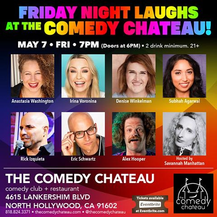 Friday Night Laughs at The Comedy Chateau image