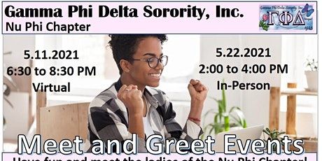 Nu Phi Chapter Membership Meet and Greet tickets