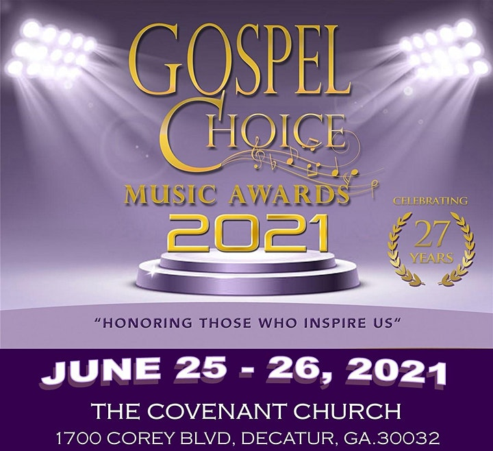 27th Annual Gospel Choice Music Awards Ceremony image
