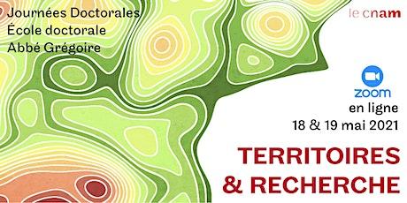Territoires & Recherche - Plénière 18 & 19 mai billets