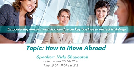 How to Move Abroad - Pushing the Boundaries tickets