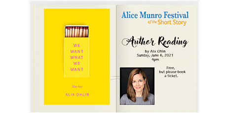 Author Reading with Alix Ohlin tickets