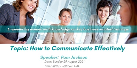 How to Communicate Effectively - Pushing the Boundaries tickets