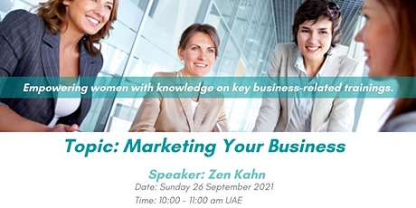 Marketing Your Business - Pushing the Boundaries tickets