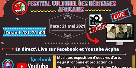 Festival culturel des héritages africains tickets