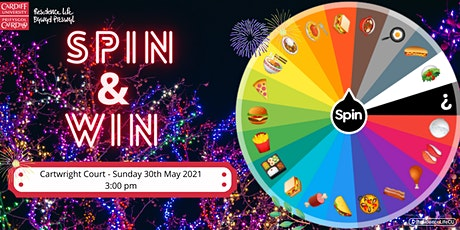 Spin & Win! @ Cartwright Court tickets