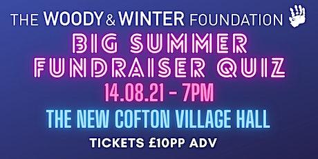 The Big Summer Fundraiser Quiz tickets