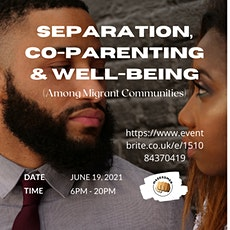 Separation, Co-Parenting and Well-being tickets