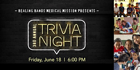 Trivia Night- 3rd Annual tickets