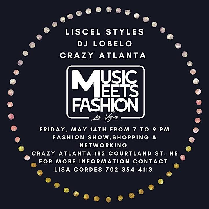 """""""Music meets Fashion""""  ~Atlanta  Fashion Show image"""