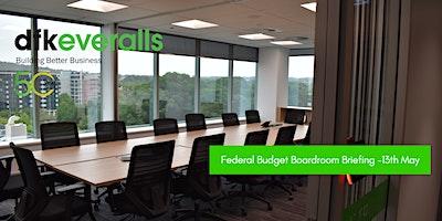 2021 Federal Budget Boardroom Briefing