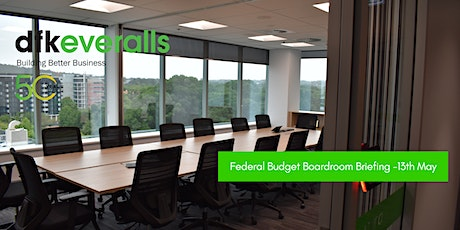 2021 Federal Budget Boardroom Briefing tickets