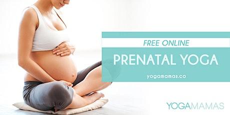 FREE ONLINE: Prenatal Yoga tickets