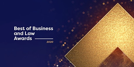 2020 Best of Business and Law Awards tickets