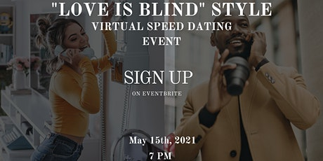"""""""Love Is Blind"""" Christian Speed Dating tickets"""