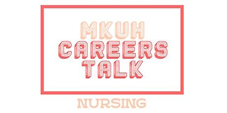 MKUH Careers Talk - Nursing tickets