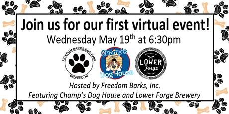 Yappy Hour with Champ's Dog House and Lower Forge Brewery tickets