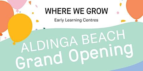 Where We Grow Aldinga Grand Opening tickets