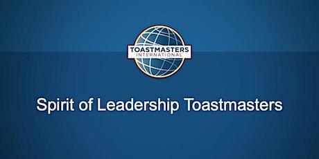 Spirit of Leadership Toastmasters Meeting tickets