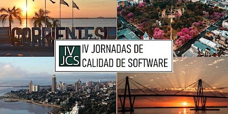 IV Jornadas de Calidad de Software 2021 entradas