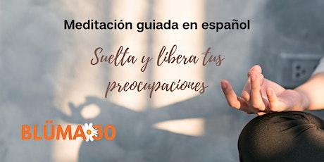 Meditación guiada presencial en español tickets