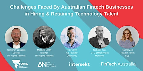 Challenges Faced By Fintech Businesses in Hiring & Retaining Tech Talent tickets