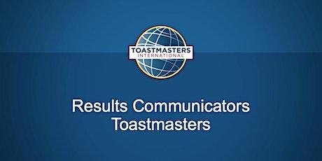 Results Communicators Meeting tickets