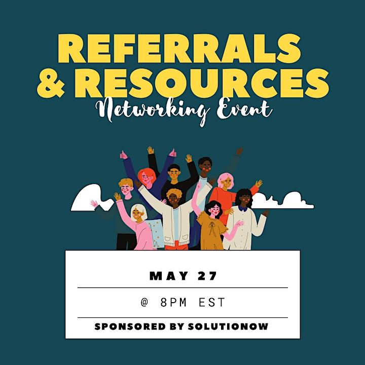 Referrals  & Resources Event image