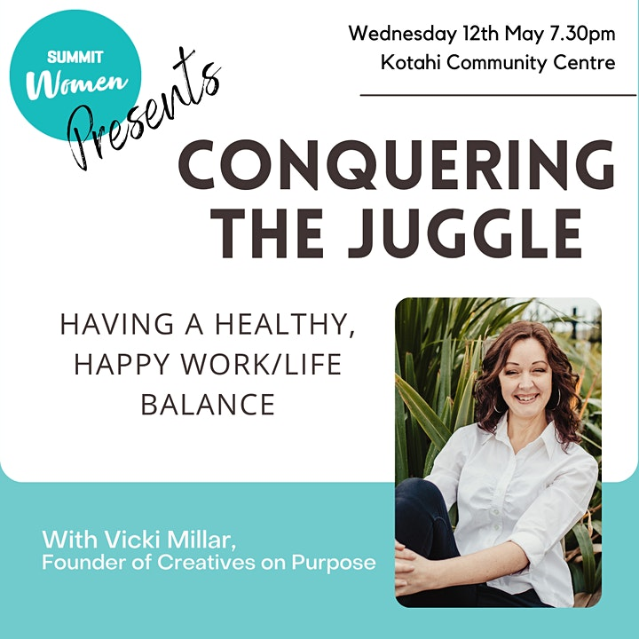 Conquering The Juggle - Having a healthy, happy work/life balance image