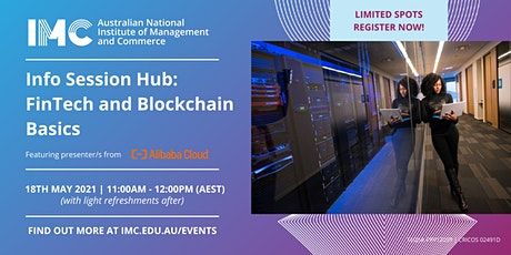 On-Campus Info Session Hub: FinTech and Blockchain Basics tickets
