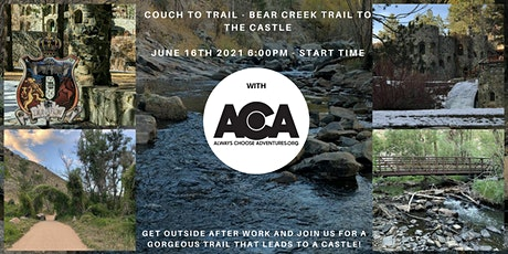 Couch To Trail - Bear Creek Trail to the Castle with ACA tickets
