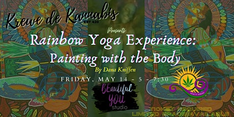 Rainbow Yoga Experience:  Painting with the Body entradas