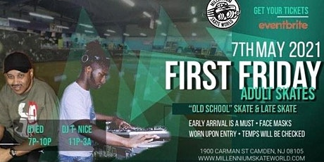1st Friday Adult Late Skate 11pm-3am featuring DJ T-Nice tickets