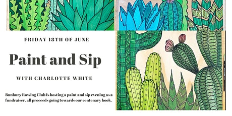 Paint and Sip with Charlotte White tickets