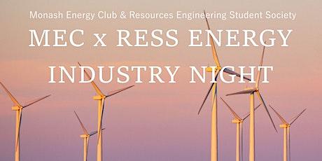 MEC & RESS Energy Industry Night 2021 tickets