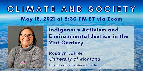 Rosalyn LaPier - Indigenous Activism and Environmental Justice tickets