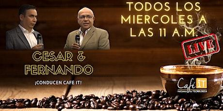 CAFÉIT EN VIVO entradas