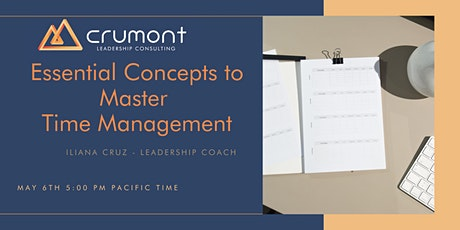 Essential Concepts to Master Time Management tickets