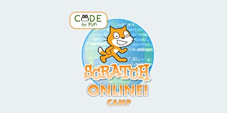 Scratch Superhero Level 1+2 - Online Summer Camp: 7/6 - 7/9 - 1-4 pm(PDT) tickets