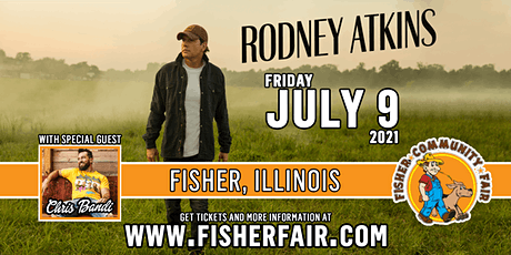 Rodney Atkins with Chris Bandi | Fisher Community Fai tickets