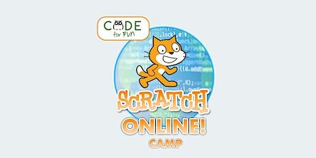 Scratch Superhero Level 1+2 - Online Summer Camp: 8/9-8/13 -9am-12 pm(PDT) tickets